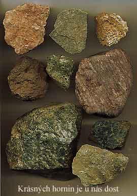 Různé horniny